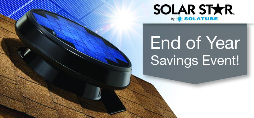 Solar Star End of Year Sale