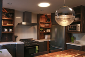 Kitchen with Smart LED